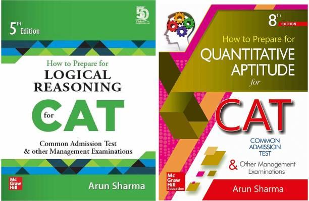 CAT Preparation Combo By Arun Sharma: Quantitative Aptitude And Logical Reasoning (Set Of 2 Books)