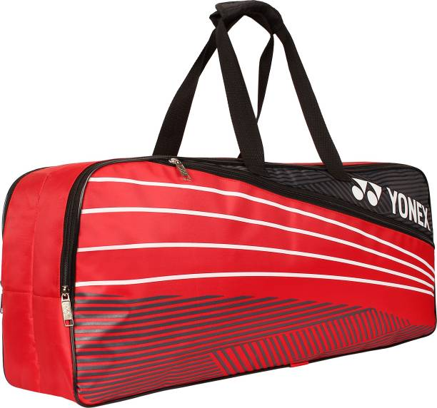 YONEX S26S Extra Volume 2 in 1 Badminton Kitbag, Red/White