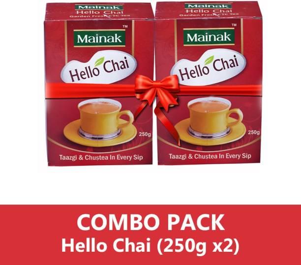 Mainak Hello Chai CTC Unflavoured Black Tea Box