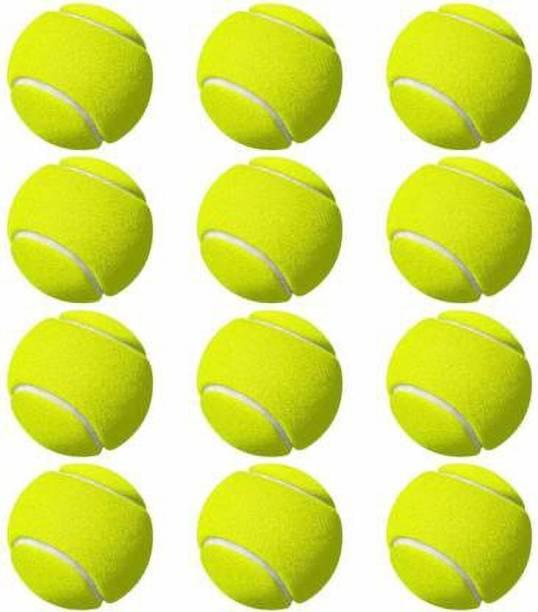 COMPASS Light Weight Pack Of 12 Piece Cricket Cricket Tennis Ball