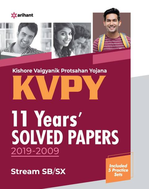 Kvpy 11 Years Solved Papers 2019-2009 Stream Sb/Sx