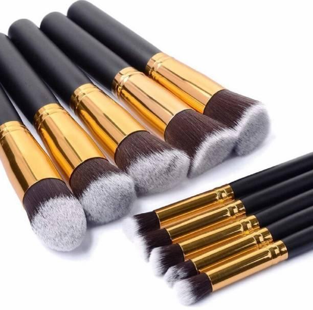 Pappilio Premium Synthetic Kabuki Makeup Brush Set