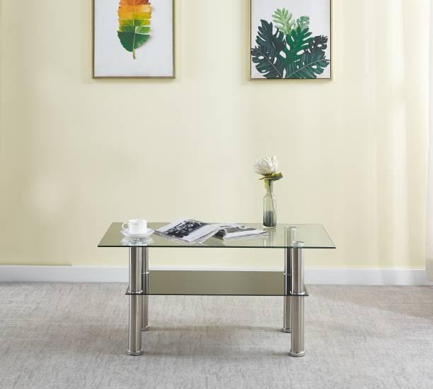 KRIJEN Hector Glass Coffee Table