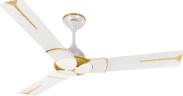 LUMINOUS Jaipur Ghoomar 1200 mm Anti Dust 3 Blade Ceiling Fan