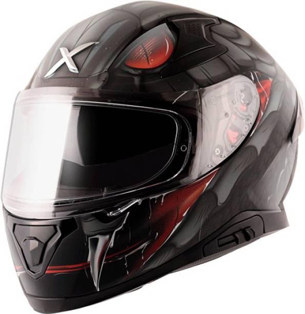 Axor Apex Venomous Black Grey Helmet Motorbike Helmet