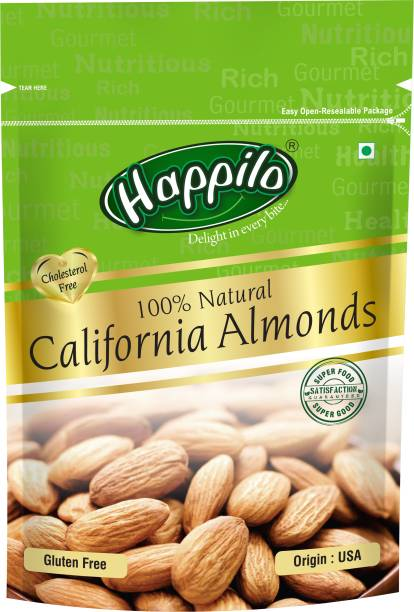Happilo Premium 100% Natural Californian Almonds