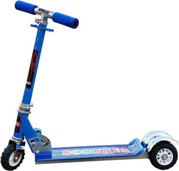 NIYAMAT Heavy Metallic Big Sized Height Adjustable Scooter for Kids Kids Scooter