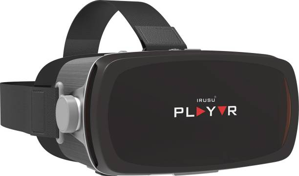IRUSU Play VR 2020 Premium VR Headset For Mobiles,smartphones with 42MM HD lenses and Touch Button