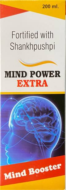 MInd power Extra Memory Booster Tonic Fortified With Shankhpushpi