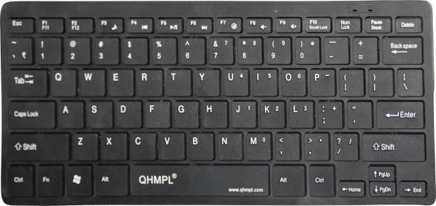 QUANTUM QHM7307 MINI MULTIMEDIA KEYBOARD Wired USB Multi-device Keyboard