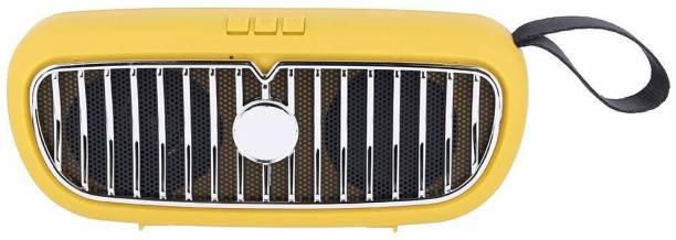 Creative Dizayn Mini BMW Super Bass Splash-Proof Bluetooth Speaker-YELLOW 6 W Bluetooth Speaker