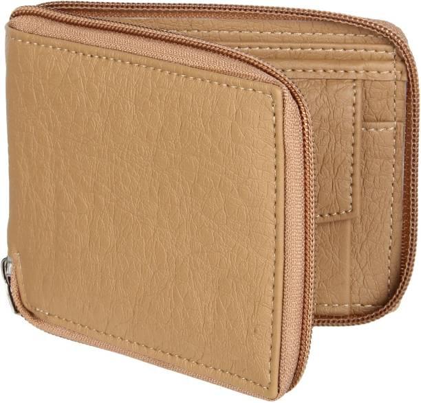 Wildedge Men Casual Beige Artificial Leather Wallet