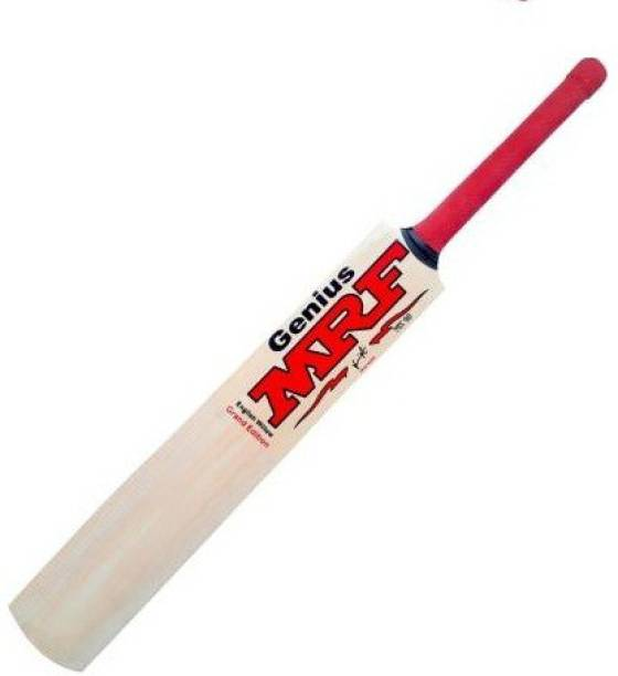 MRF Genius 1010 (SIZE-6) TANNIS POPULER BAT Poplar Willow Cricket  Bat