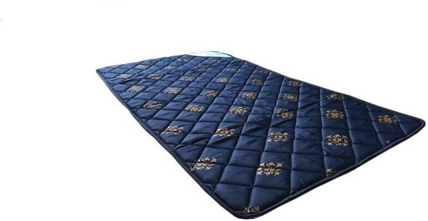 Nilkamal Travelite Blue 1 inch Single Cotton Mattress