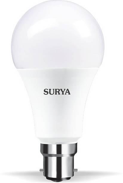 SURYA 10 W Round B22 LED Bulb