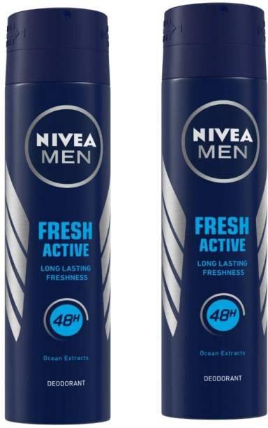 NIVEA Fresh Active Deodorant Stick  -  For Men