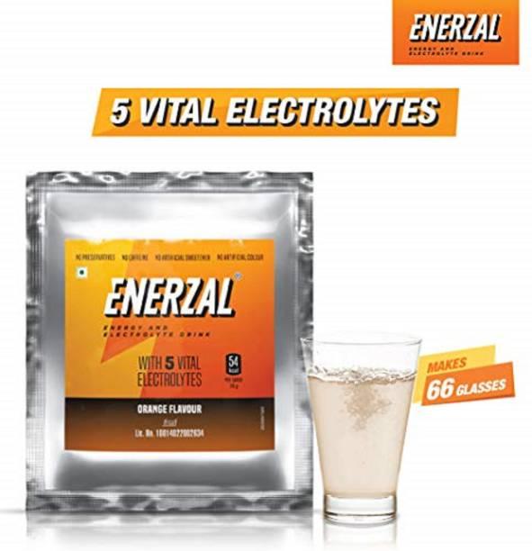 Enerzal Energy Drink Powder Orange Flavour Energy Drink