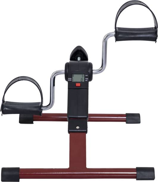 Lifelong LLF63 Fit Pro Foot Pedal Fitness Machine, Yoga Mat Included Dual-Action Stationary Exercise Bike