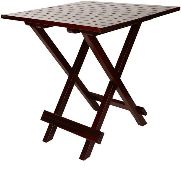 Allie Wood Sheesham Wood Solid Wood Cafeteria Table