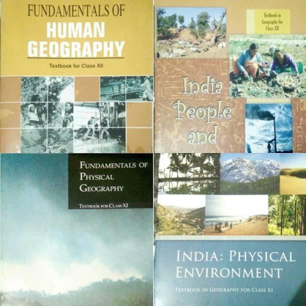 Ncert Geography Class 1112 Vol1+2 (4 Books)