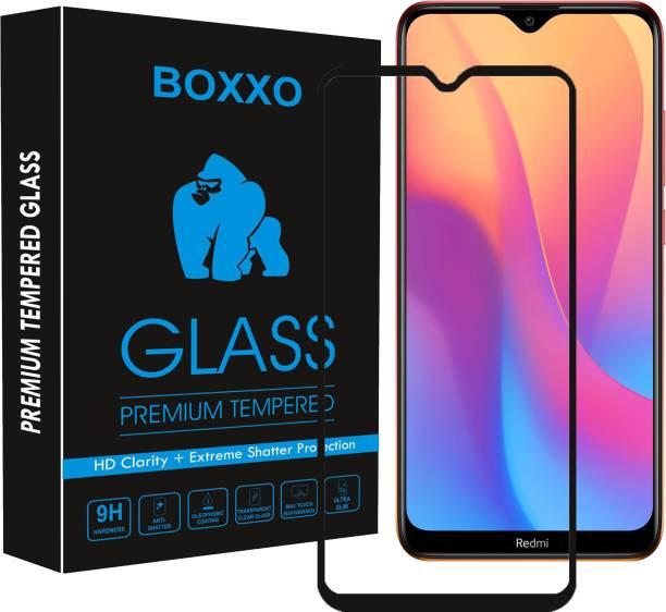 Boxxo Edge To Edge Tempered Glass for Mi Redmi 8A Dual, Mi Redmi 8A, Mi Redmi 8, Mi Redmi 8A Pro