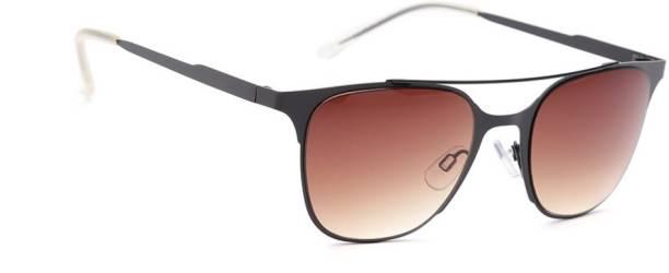 Mast & Harbour Retro Square Sunglasses