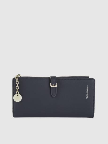 MAST & HARBOUR Women Blue Artificial Leather Wallet
