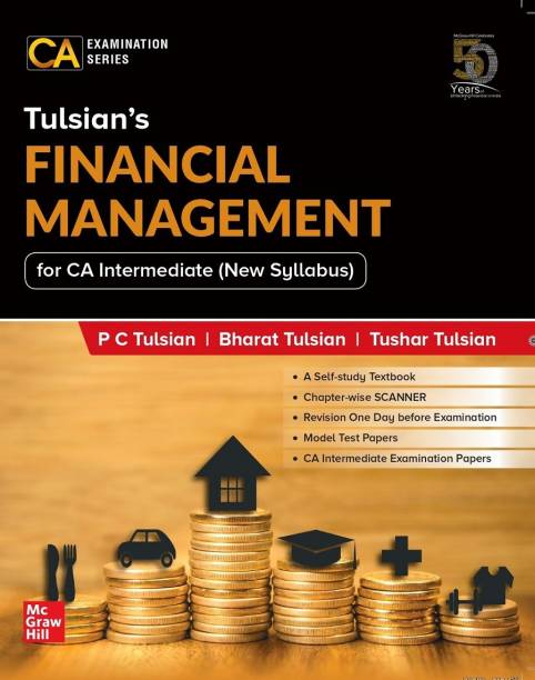 Tulsian's Financial Management For CA Intermediate (New Syllabus)   For Paper 8A
