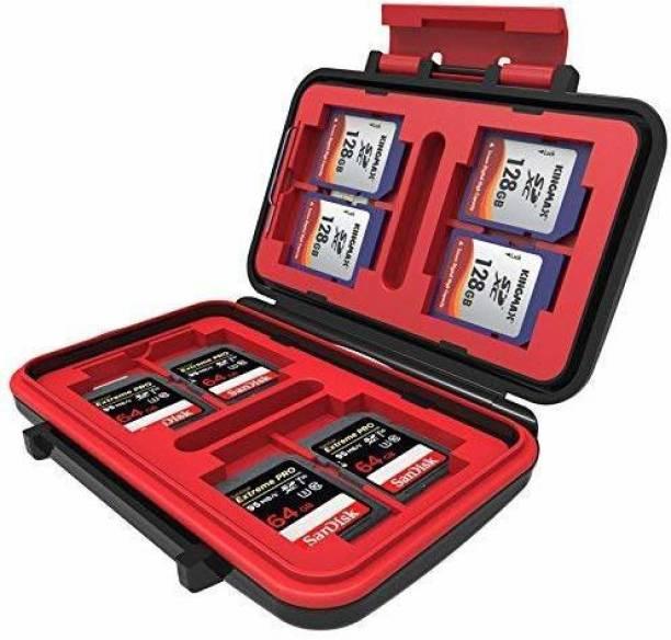 Digiom 24 Slots Memory Card Case,Sd Card Holder,Water-Resistant&Shockproof Holder Storage Memory Card Case for CF cards/MicroSD cards/SD card Camera Bag  Camera Bag
