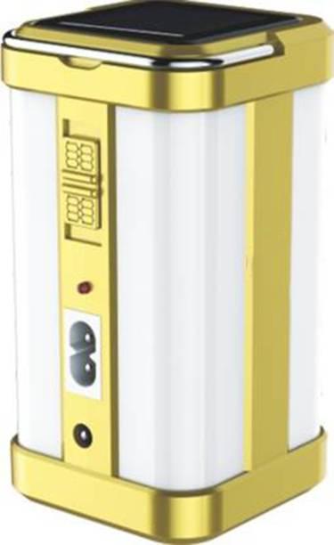 FIRSTLIKE Home Emergency Light 4 Side Tube with Solar Extra Bright Light Lantern Emergency Light