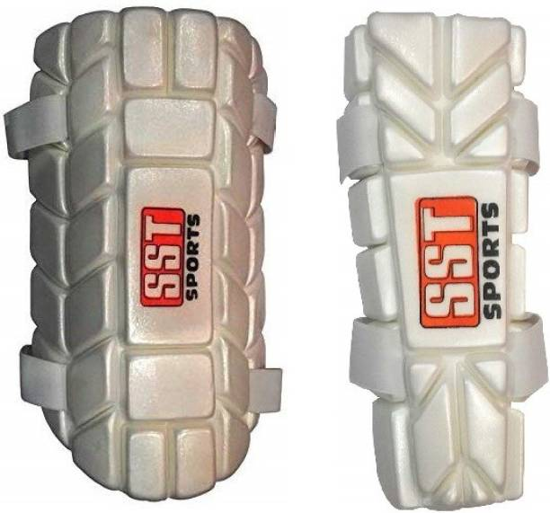 SST Sports SST Cricket Thigh Guard/Pad With Cricket Elbow Guard, Superlite Moulded for Men Cricket Thigh Guard