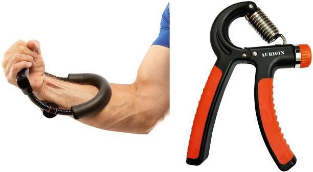 Aurion Highly Durable Long Lasting Wrist Exerciser and Hand Grip Fitness Grip Gym & Fitness Kit
