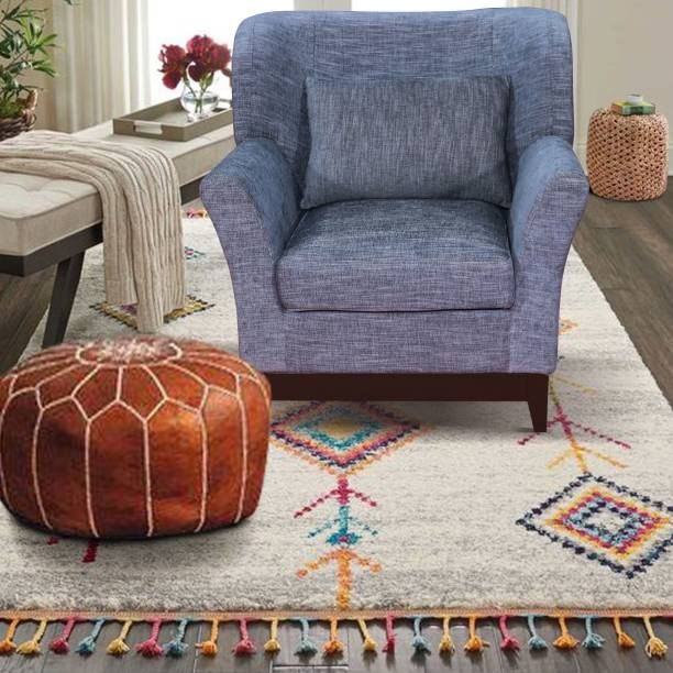 ARRA ARRA Alexa Accent Living Room Chair Solid Wood Living Room Chair