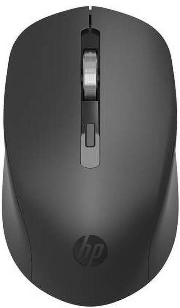 HP S1000 Silent Wireless Optical Mouse (2.4GHz Wireless, Black) Wireless Optical Mouse  with Bluetooth