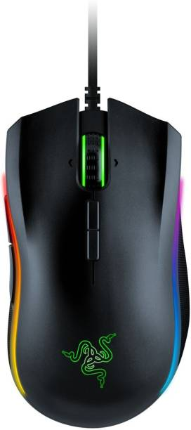 Razer Mamba Elite - Right-Handed Gaming Mouse (RZ01-02560100-R3M1) Wired Optical  Gaming Mouse
