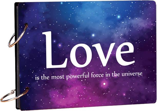 100yellow Love is the most Powerful (20 Pages) Photo Theme,  Scrapbook Kit