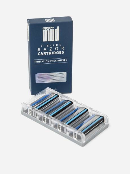 MensXP Mud 6-Blade Razor Cartridges