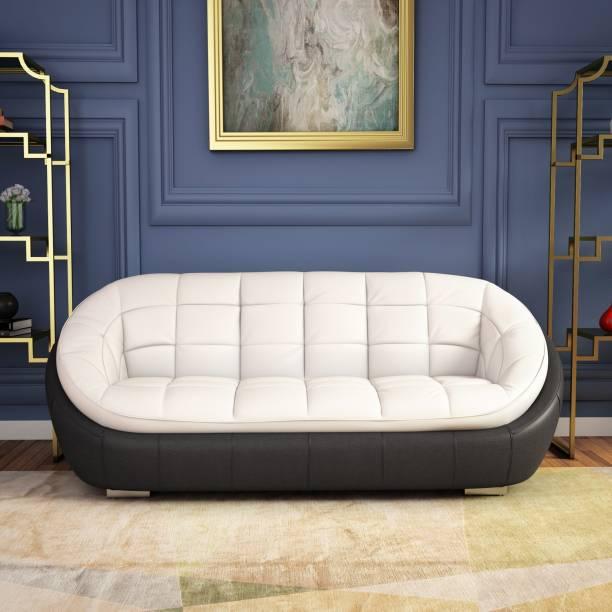 Godrej Interio Leatherette 3 Seater  Sofa
