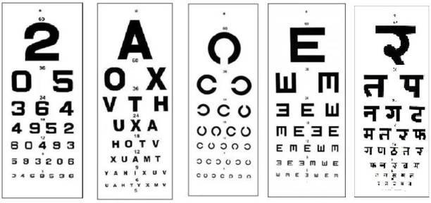 ASF UNIVERSAL ACHEN Vision Test Chart