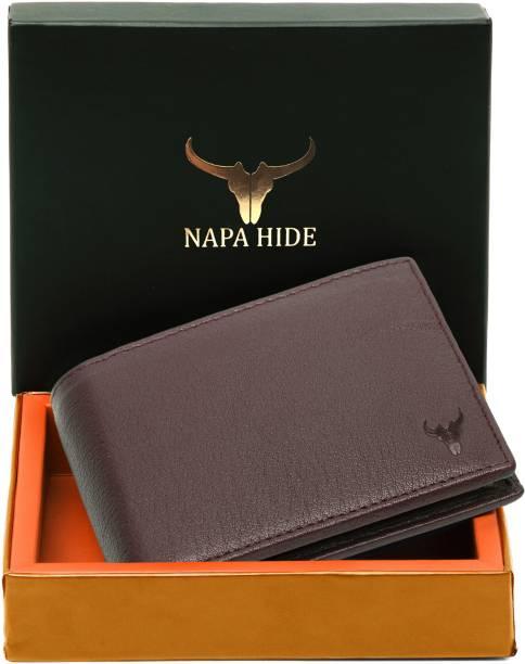 napa hide Men Brown Genuine Leather Wallet