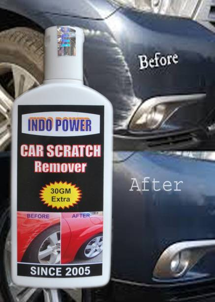 INDOPOWER CAR SCRATCH REMOVER 100gm.All Colour Car & Bike Scratch Remover, Advanced Formula Rubbing Compound (Not for Dent & Deep Scratches) Combo
