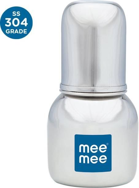 MeeMee Premium Steel Feeding Bottle - 120 ml