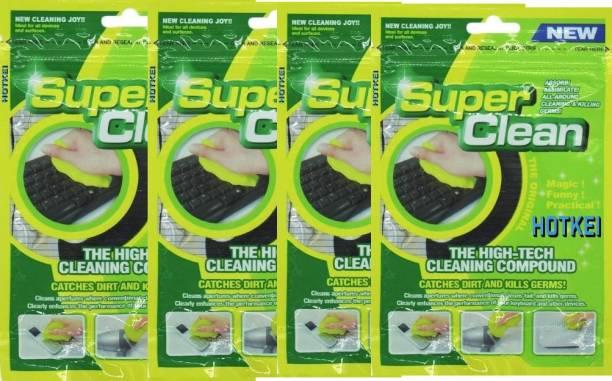 LAZI Multipurpose Car Dust Cleaning Slime Gel Cleaner Car AC Interior Cleaning Gel Kit Cleaner (PACK OF 4) Pack Of 4 Car Interiror AC Vent Cleaning Kit Gel Vehicle Interior Cleaner