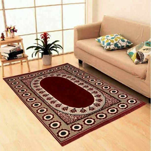 IDYLLIC Multicolor Cotton Carpet