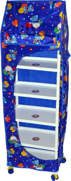 Totsy Child Craft 6 Shelves Wardrobe Cotton Collapsible Wardrobe