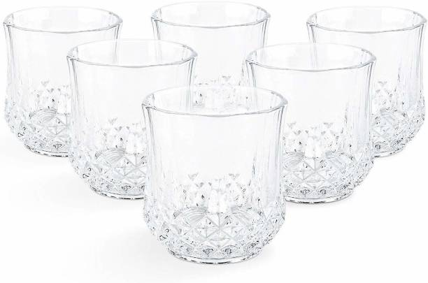 BESTAQUA (Pack of 6) scotch glass set Glass Set