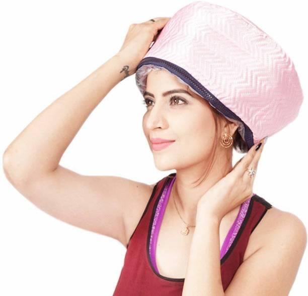 BellAella Hair Streamer Hair Care Thermal Head Spa Cap Treatment with Beauty Steamer Nourishing Heating Cap Hair Steamer Hair Steamer