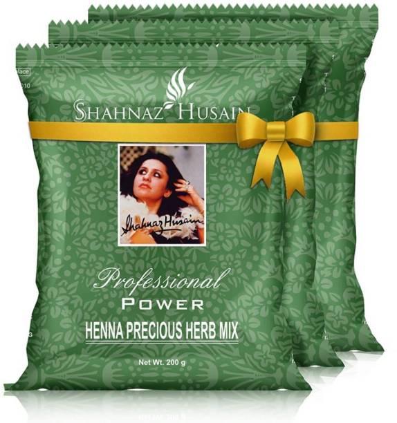 Shahnaz Husain Shhnaz forever Henna Precious Herb Mix - 3x200 Gm