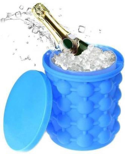 desai 1.5 L Silicone DI-ice cube bucket Ice Bucket