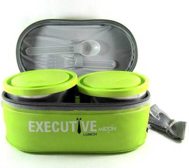 MILTON Executive Lunch 3 Containers Lunch Box 3 Containers Lunch Box